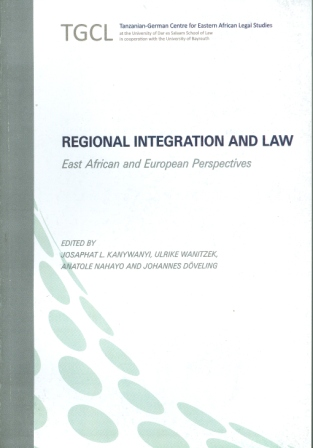 Regional Integration and Law