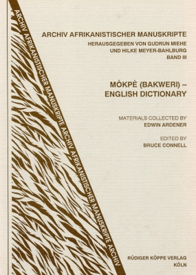 Mòkpè (Bakweri) – English Dictionary