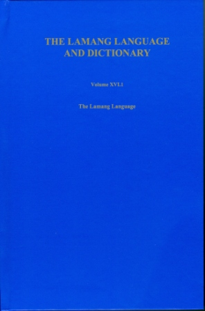 The Lamang Language and Dictionary