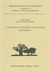 A Learner's Chichewa and English Dictionary