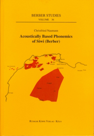 Acoustically Based Phonemics of Siwi (Berber)