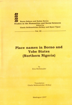 Place Names in Borno and Yobe States (Northern Nigeria)