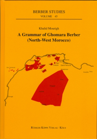 A Grammar of Ghomara Berber (North-West Morocco)