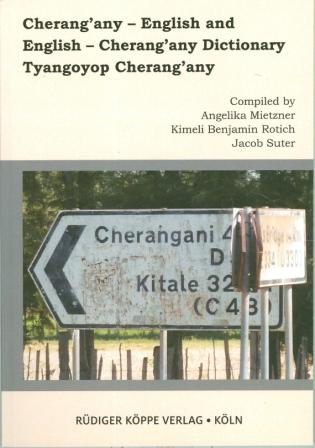 Cherang'any–English and English–Cherang'any Dictionary