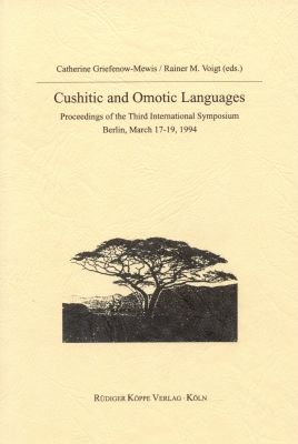 Cushitic and Omotic Languages