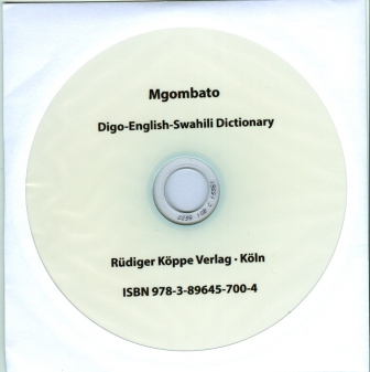 Mgombato – Digo-English-Swahili Dictionary