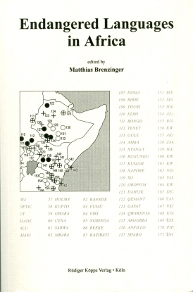 Endangered Languages in Africa