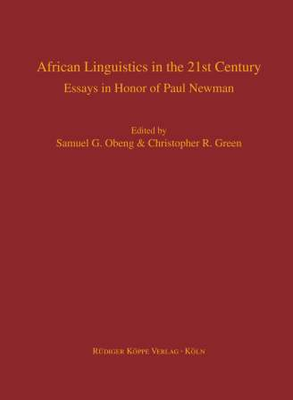 African Linguistics in the 21st Century