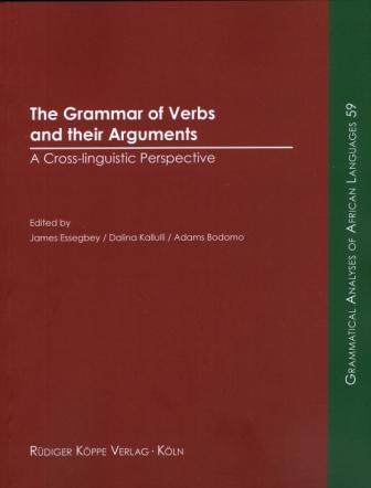 The Grammar of Verbs and their Arguments