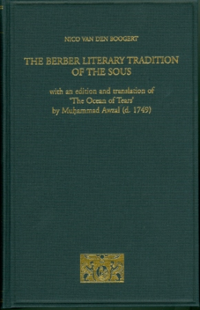 The Berber Literary Tradition of the Sous