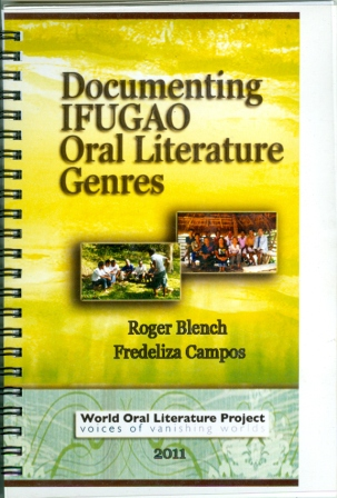Documenting Ifugao Oral Literature Genres