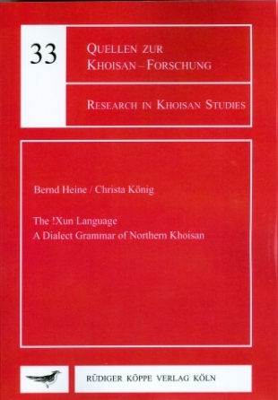Research in Khoisan Studies