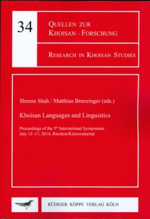 Khoisan Languages and Linguistics