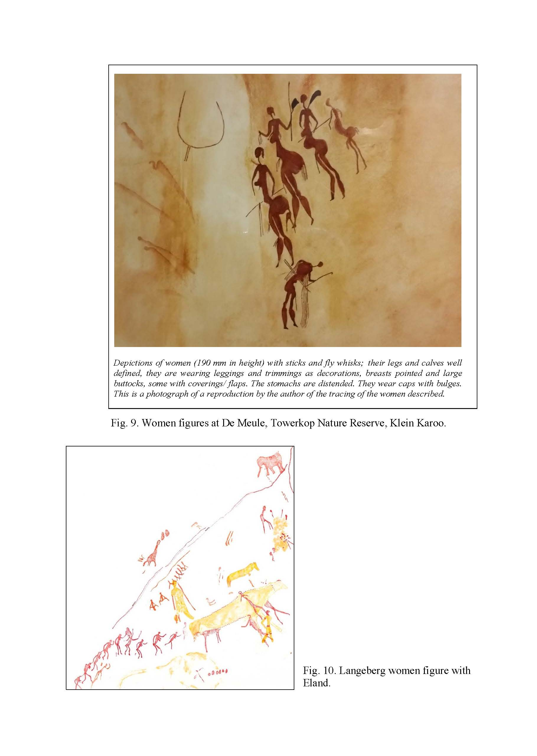 Rock Paintings of the Klein Karoo and a Link to a Local Story