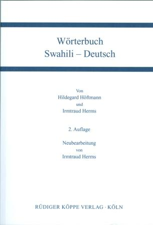 Wörterbuch Swahili-Deutsch / Deutsch-Swahili