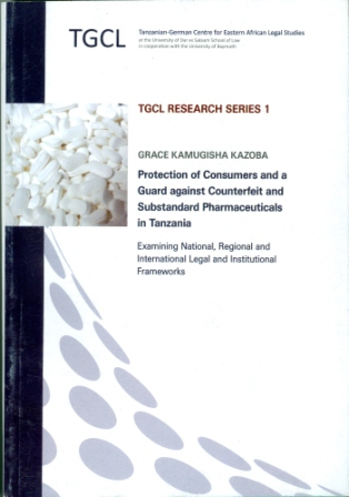Tanzanian-German Centre for Eastern African Legal Studies, TGCL Research Series