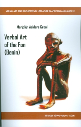 Verbal Art of the Fon (Benin)