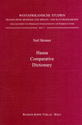Hausa Comparative Dictionary