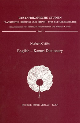 English–Kanuri Dictionary