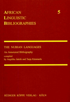 The Nubian Languages