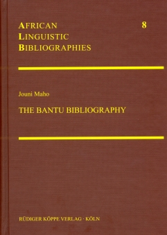 The Bantu Bibliography