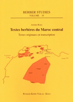 Textes berbères du Maroc central (Traductions en anglais – Translations into English)