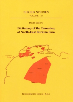 Dictionary of the Tamasheq of North-East Burkina Faso