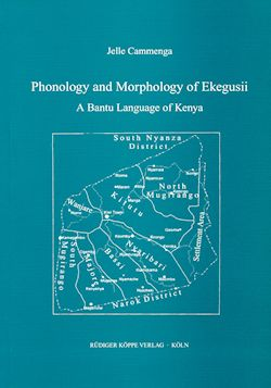Phonology and Morphology of Ekegusii