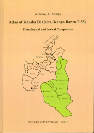 Atlas of Kamba Dialects (Kenya Bantu E.55)