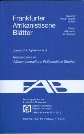 Perspectives in African Intercultural Philosophical Studies