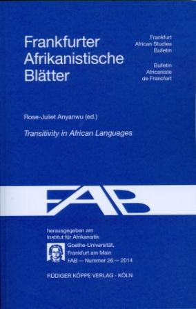 Transitivity in African Languages