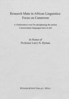 Research Mate in African Linguistics – Focus on Cameroon