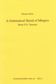 A Grammatical Sketch of Mbugwe
