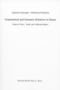 Grammatical and Semantic Relations in Hausa