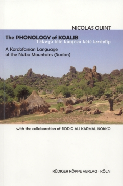 The Phonology of Koalib