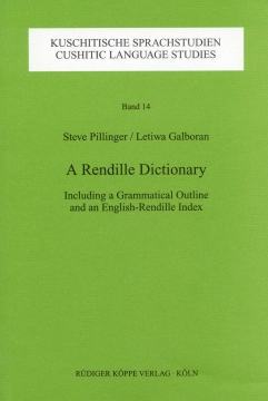 A Rendille Dictionary