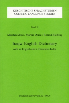 Iraqw-English Dictionary