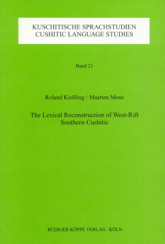The Lexical Reconstruction of West-Rift Southern Cushitic