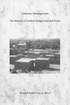 The Manasir of Northern Sudan – Land and People