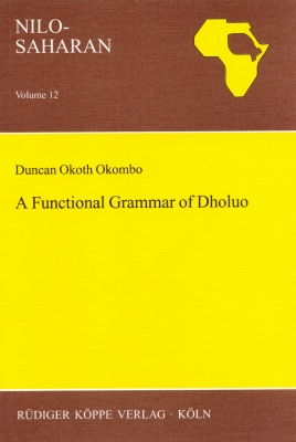 A Functional Grammar of Dholuo