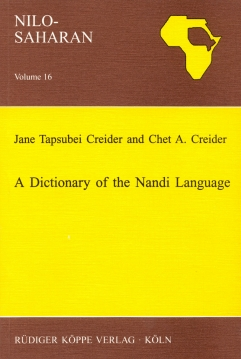 A Dictionary of the Nandi Language