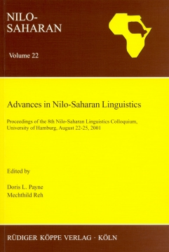 Advances in Nilo-Saharan Linguistics