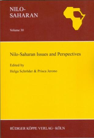 Nilo-Saharan Issues and Perspectives