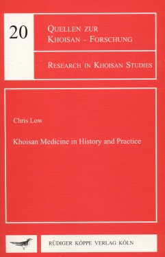 Khoisan Medicine in History and Practice