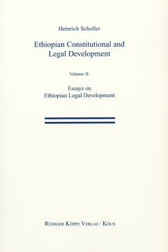 Ethiopian Constitutional and Legal Development