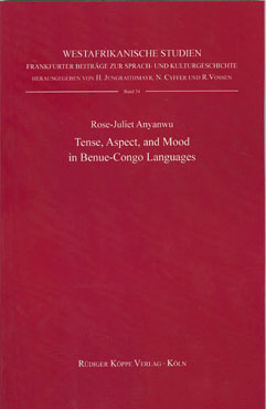 Tense, Aspect, and Mood in Benue-Congo Languages