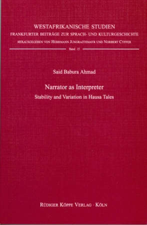 Narrator as Interpreter